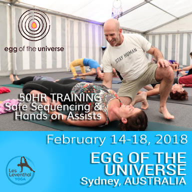 Les Leventhal Yoga 50 Hour Teacher training AUSTRALIA