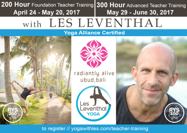 2017 Teacher Training Les Leventhal Yoga