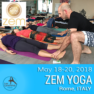 Les Leventhal Yoga European Tour 2018