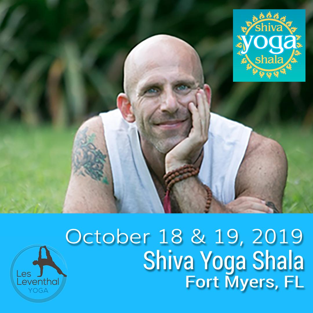 Fort Myers Yoga Shiva Yoga Shala Workshops Les Leventhal