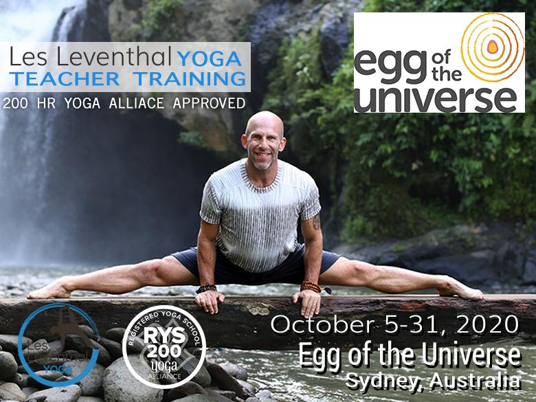 200 hour Teacher Training Les Leventhal Yoga Sydney Australia
