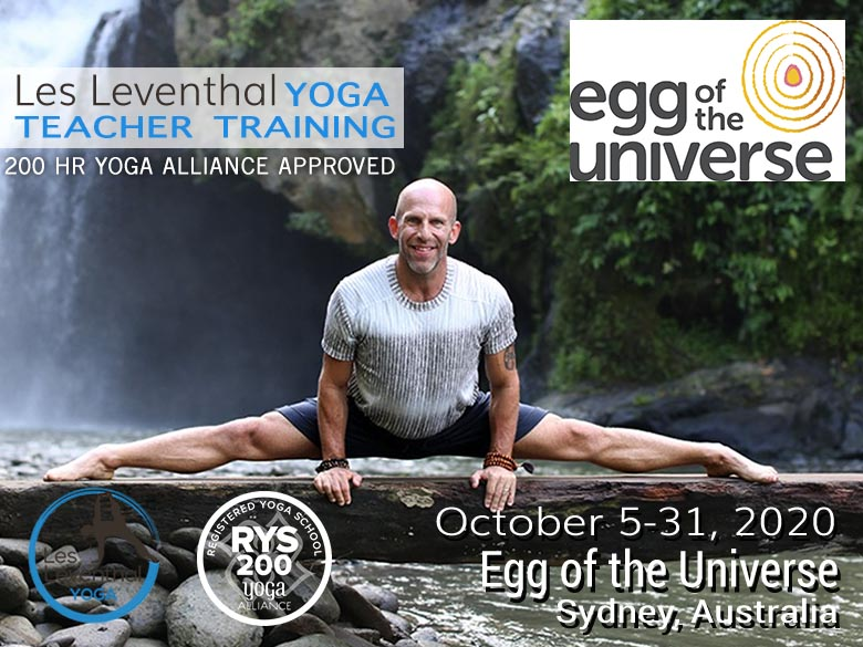 200 hour Teacher Training Les Leventhal Yoga Sydney Australia